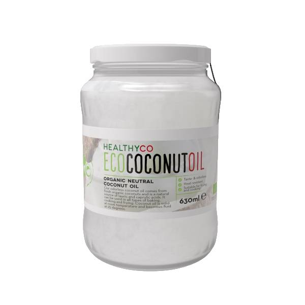 Bilde av HealthyCO - Coconut Oil - Organic Cold Pressed Coconut Oil 630ml