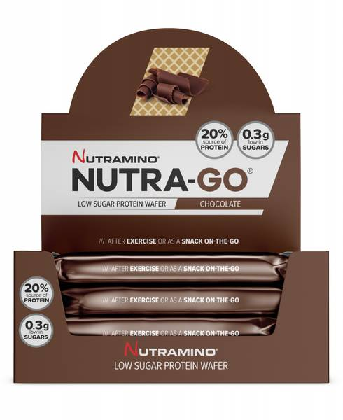 Bilde av Nutramino Nutra-GO Protein Wafer - Chocolate 39g