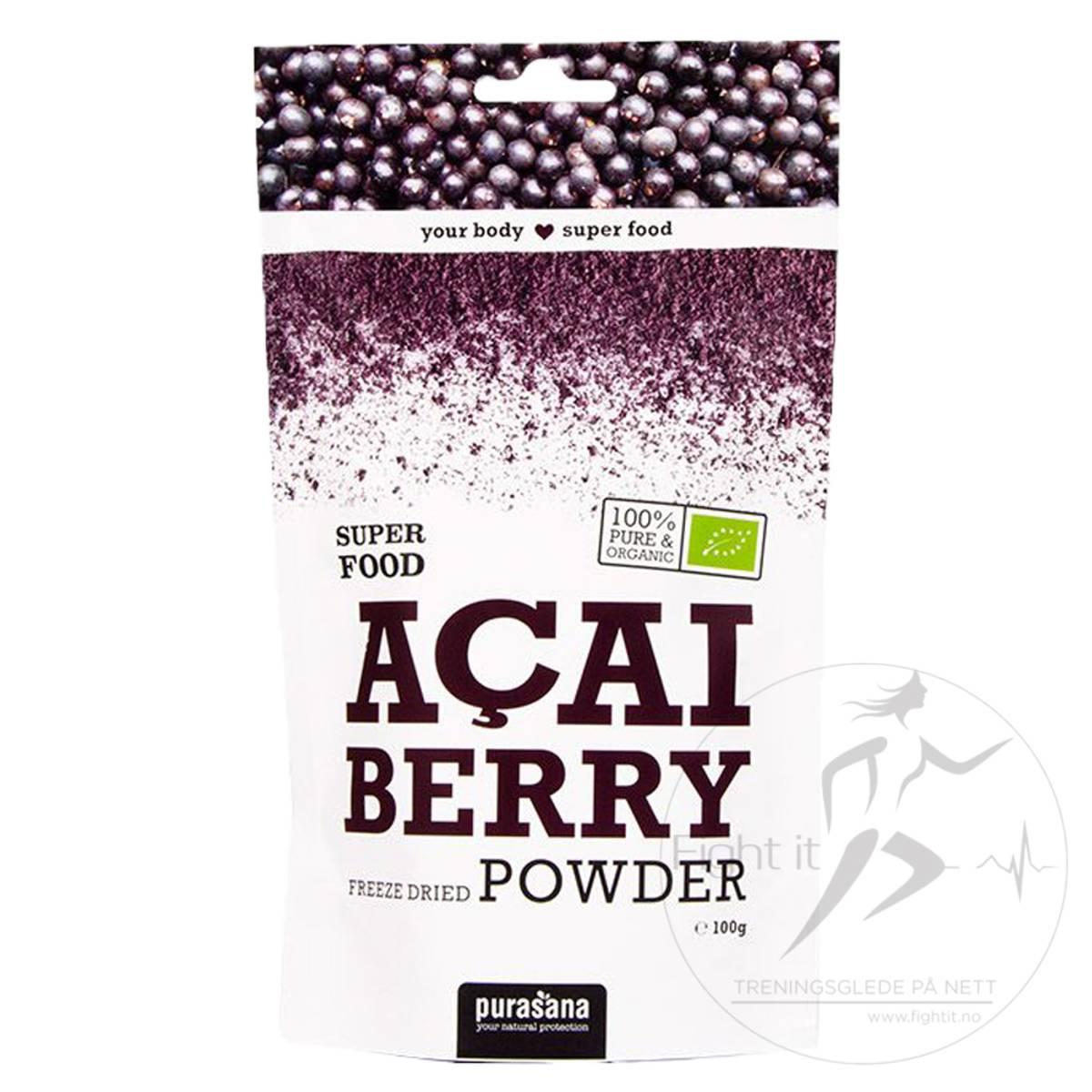 Purasana - Acai Berry Powder 100g