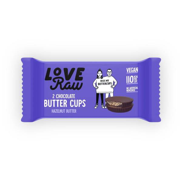 Bilde av LoveRaw - Butter Cups - Hazelnut Butter 34g
