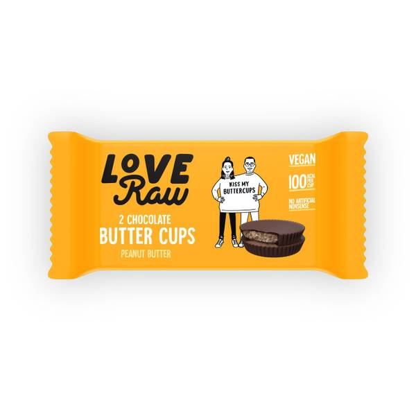 Bilde av LoveRaw - Butter Cups - Peanut Butter 34g