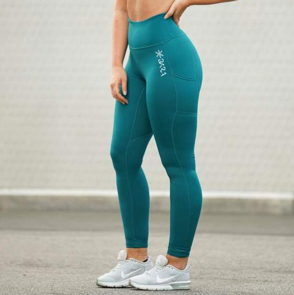 Bilde av BARA Sportswear - Teal Power Tights