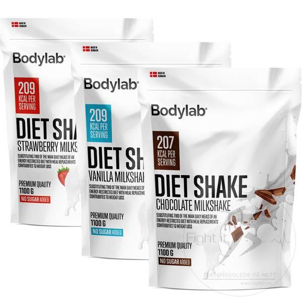 Bilde av Bodylab Diet Shake - Milkshake 1100g