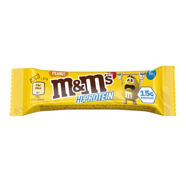 Bilde av M&M HI-Protein - Peanut (12x51g)