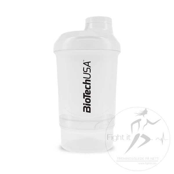 Bilde av BiotechUSA - Nano Shaker White 300ml