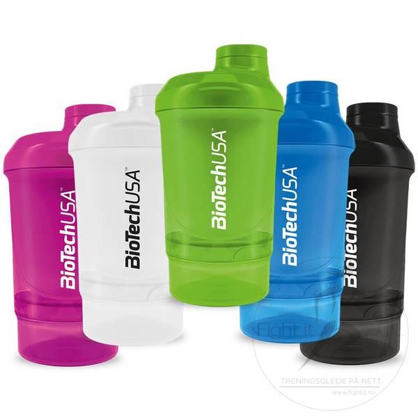 Bilde av BiotechUSA - Nano Shaker Blue 300ml