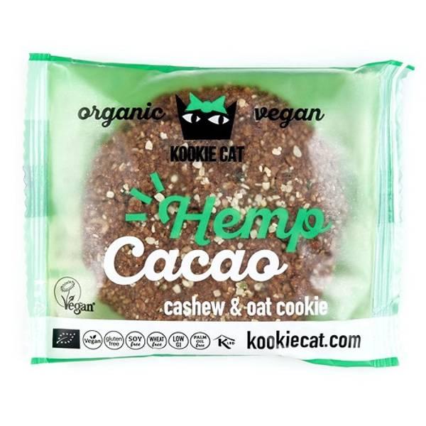 Bilde av Kookie Cat - Hemp Cacao Sjokoladekjeks 50g