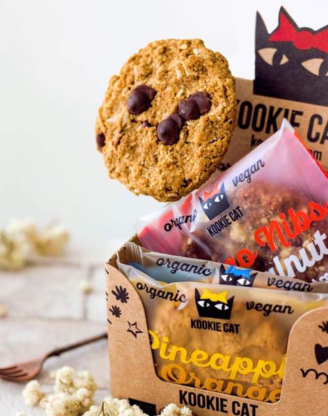 Bilde av Kookie Cat - Vanilla Choc Chip Sjokoladekjeks 50g