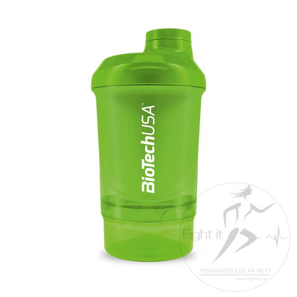 Bilde av BiotechUSA - Nano Shaker Green 300ml