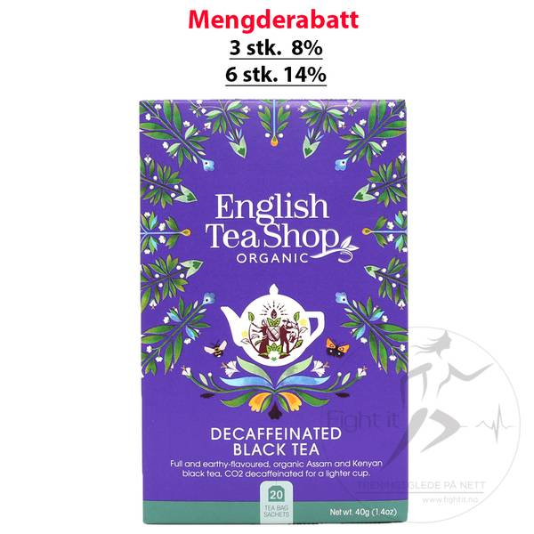 Bilde av English Tea Shop - Decaffeinated Black Tea