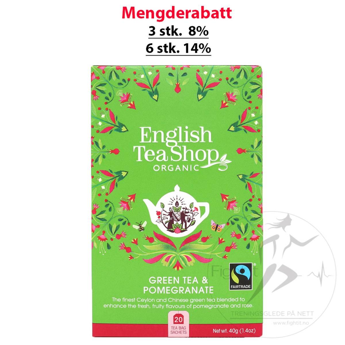 English Tea Shop - Green Tea & Pomegranate