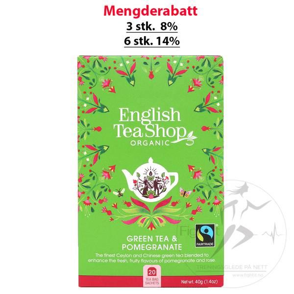 Bilde av English Tea Shop - Green Tea & Pomegranate