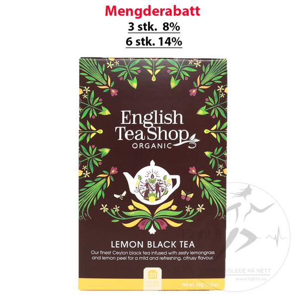 Bilde av English Tea Shop - Lemon Black Tea