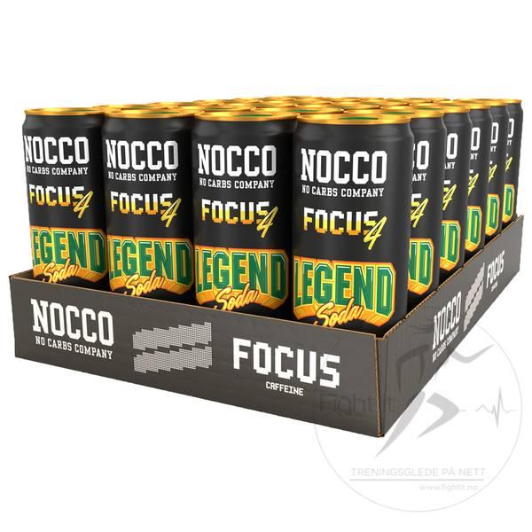 Bilde av Nocco BCAA - Focus 4 Legend Soda 330ml