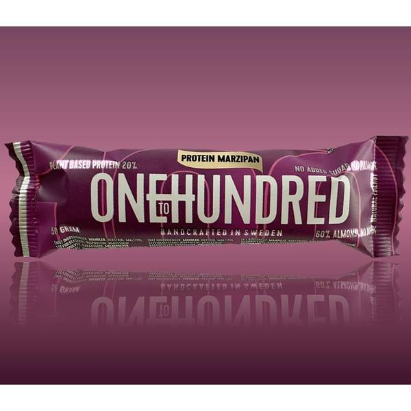 Bilde av One To Hundred - Protein Marzipan 50g