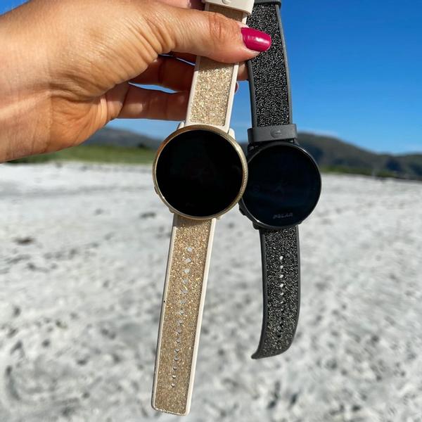 Bilde av Polar Crystal Wristband - Grey