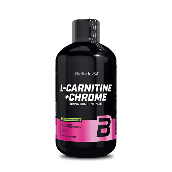 Bilde av BioTechUSA - L-Carnitine+ Chrome 500ml