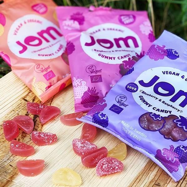 Bilde av Jom - Gummy Candy - Strawberry & Peach 70g