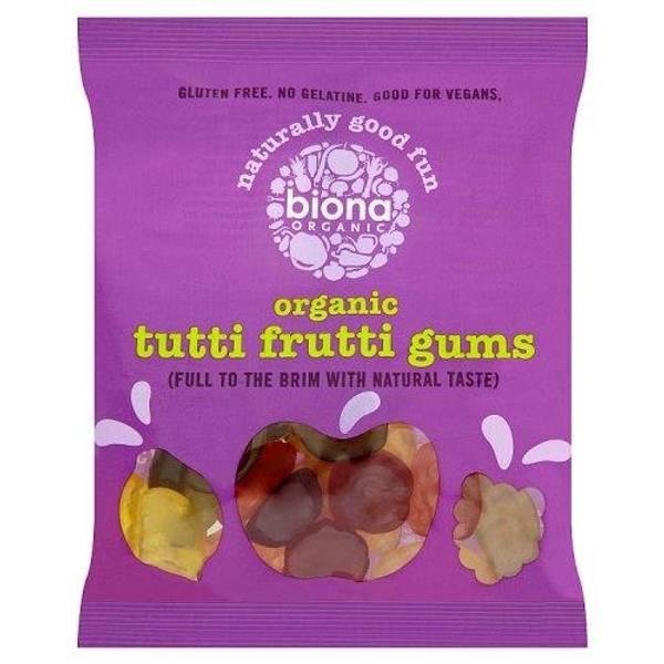 Bilde av Biona - Organic Tutti Frutti Gums 75g
