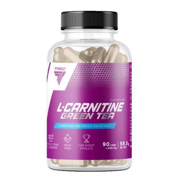 Bilde av Trec Nutrition - L-Carnitine Green Tea 90 kap.