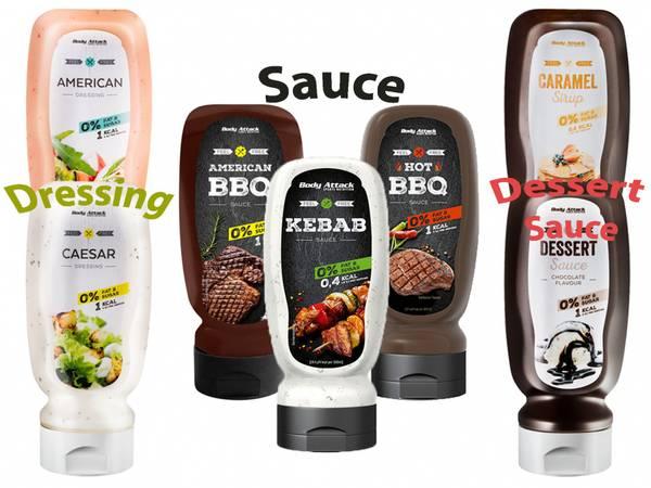 Bilde av Body Attack - Dressing/ Sauce/ Sirup 320ml