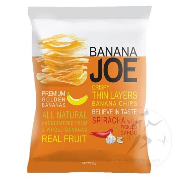 Bilde av Banana Joe - Banan Chips - Sriracha 50g