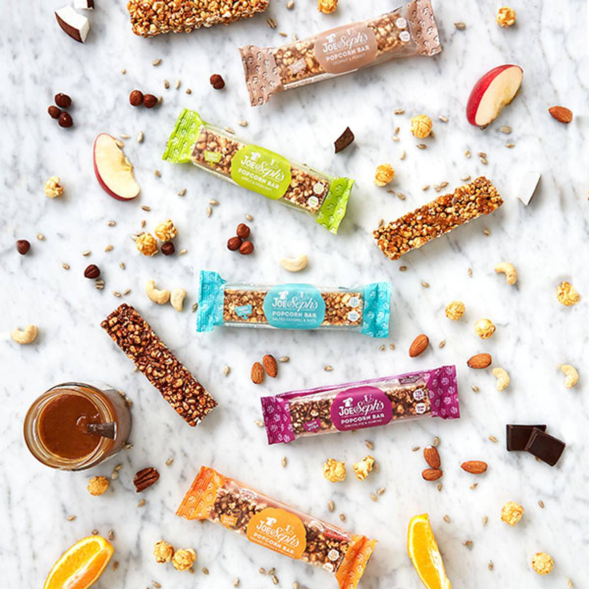 Joe & Sephs - Popcorn Bar - Coconut & Peanut 27g