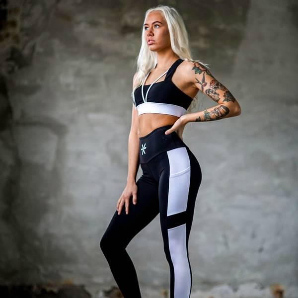 Bilde av BARA Sportswear - Black Core Tights