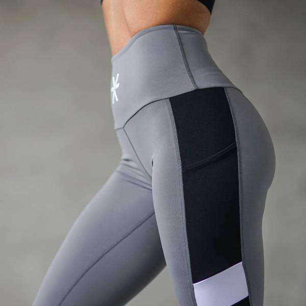 Bilde av BARA Sportswear - Charcoal Core Tights