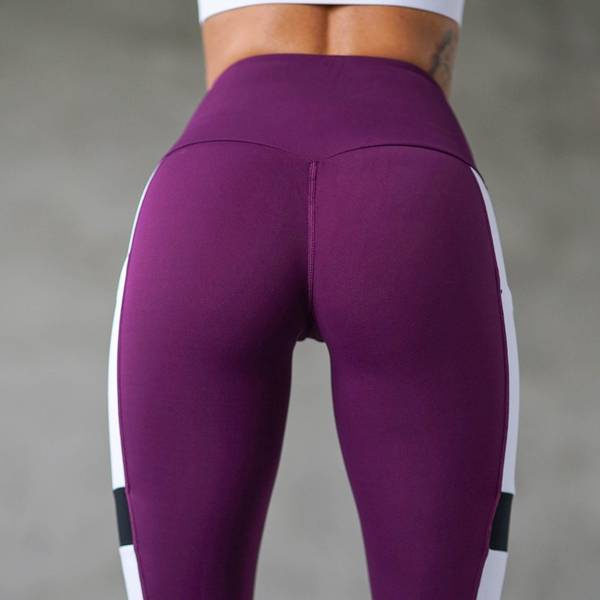 Bilde av BARA Sportswear - Plum Core Tights