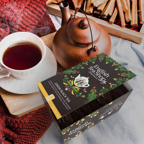 Bilde av English Tea Shop - Black Tea & Ginger with Peach