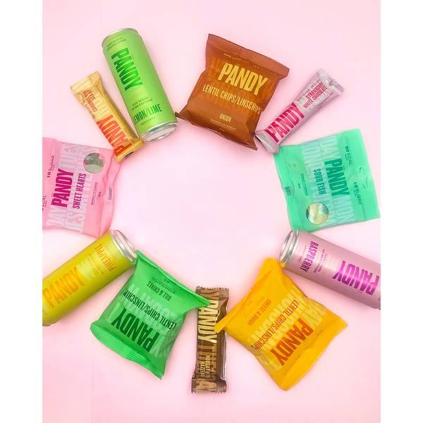 Bilde av Pandy Protein Chips - Sour Cream & Onion (10x40g)