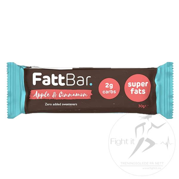Bilde av FattBar Energibar - Apple & Cinnamon 30g