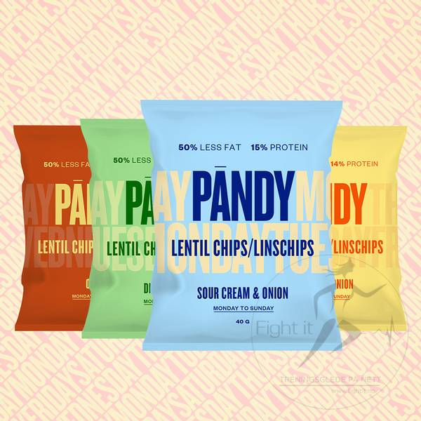 Bilde av Pandy Protein Chips - Dill Chives 40g