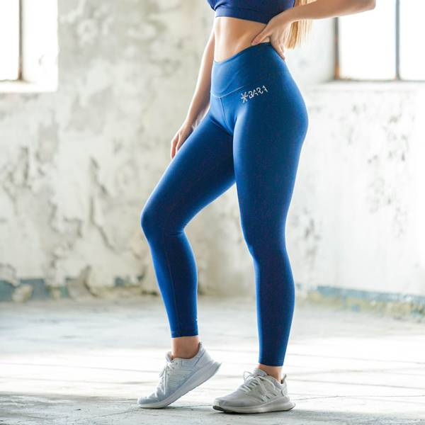 Bilde av BARA Sportswear - Blue 7/8 Tights