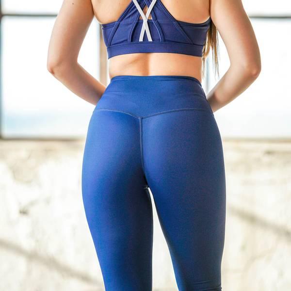Bilde av BARA Sportswear - Blue 7/8 Tights