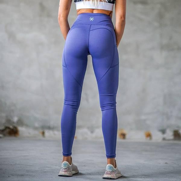 Bilde av BARA Sportswear - Storm Blue Power Tights