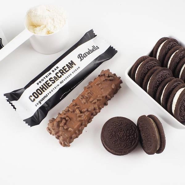 Bilde av Barebells - Cookies & Cream (12x55g)