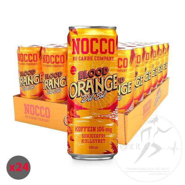 Bilde av Nocco BCAA - Mango Del Sol 330ml