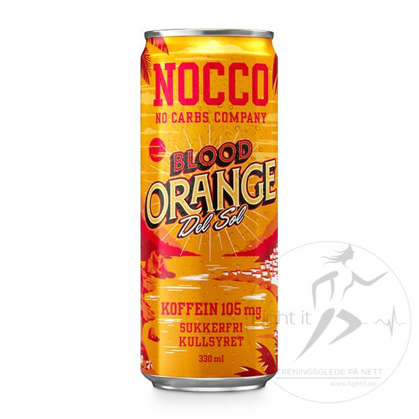 Bilde av Nocco BCAA - Blood Orange Del Sol 330ml