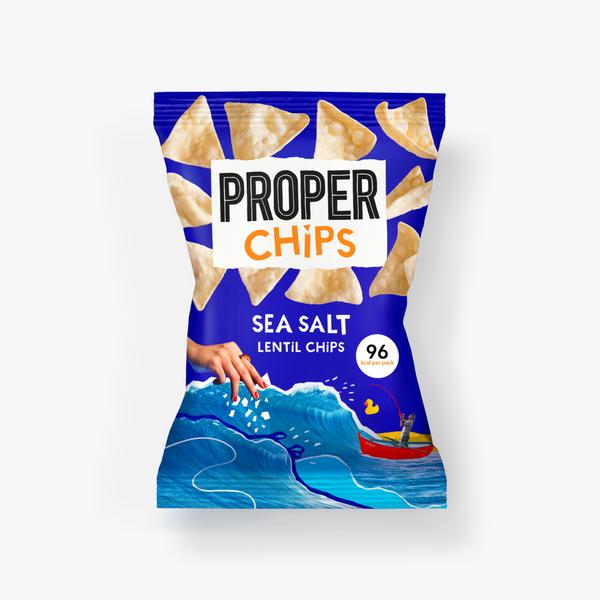 Bilde av ProperChips - Sea Salt 20g