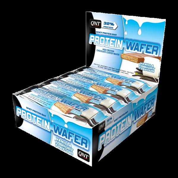 Bilde av QNT - Whey Protein Wafer - Vanilla Yoghurt Flavour (12x35g)