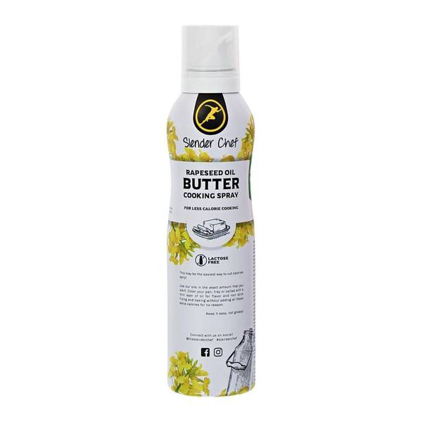 Bilde av Slender Chef - Cooking Spray- Rapeseed Oil Butter 200g
