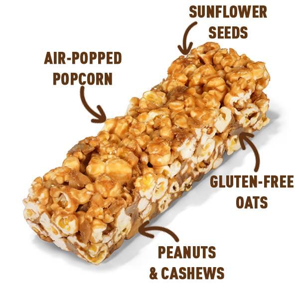Bilde av Joe & Sephs - Popcorn Bar - Salted Caramel & Nuts 27g