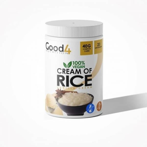 Bilde av Good 4 Nutrition - Cream Of Rice - Vanilla 1000g
