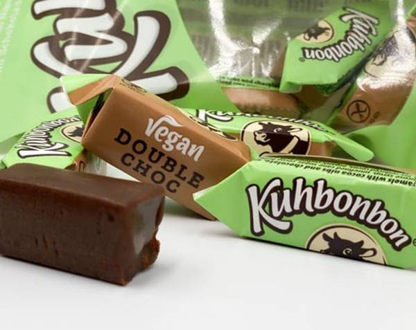 Bilde av Kuhbonbon - Vegan Double Choc (6x165g)