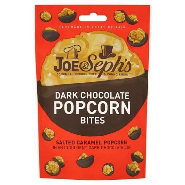 Bilde av Joe & Seph`s - Dark Chocolate & Salted Caramel Popcorn Bites 63g