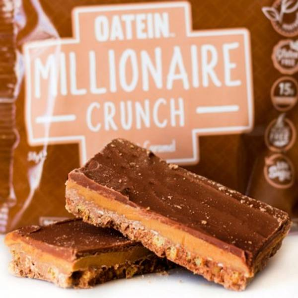 Bilde av Oatein - Millionaise Crunch - Hazelnut Caramel 58g