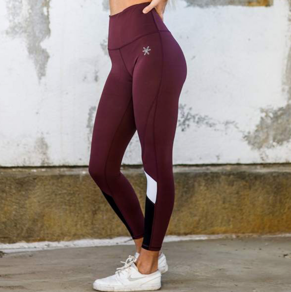 Bilde av BARA Sportswear - Berry Lux Tights