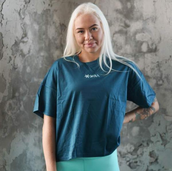 Bilde av BARA Sportswear - Petrol Oversized Eco T-shirt